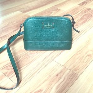 Kate Spade small forest green bag